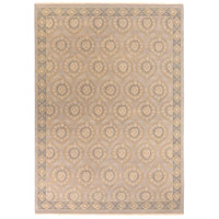 Jade 168 X 120 inch Neutral and Brown Area Rug, Wool