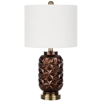 Surya Ivory Metal Table Lamps