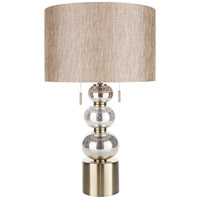 Surya JSN-001 Jensen 29 inch 60 watt Camel Table Lamp Portable Light