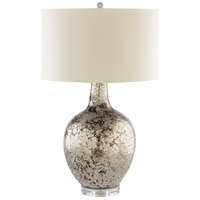 Surya Ivory Glass Table Lamps