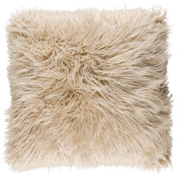 Kharaa 18 X 18 inch Khaki Pillow Cover