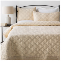 Kojo Tan and Grey Quilt Set, Full or Queen