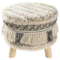 Surya KRN-004 Karina Teal/Dark Brown/Charcoal/Cream Furniture