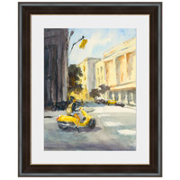 Yellow Moped Wall Art, Rectangle, Eternal