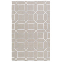 Lagoon 18 X 18 inch Ivory Outdoor Area Rug, Sample