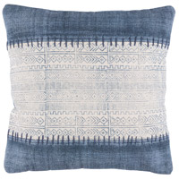 Surya LL007-2020 Lola 20 X 20 inch Off-White and Navy Pillow Cover