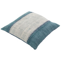 Surya LL008-3030 Lola 30 X 30 inch Off-White and Navy Pillow Cover