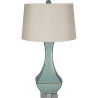 Surya LMP-1004 Belhaven 32 inch 150 watt Turquoise Reactive Glaze Table Lamp Portable Light