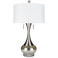 Surya LMP-1074 Karval 33 inch 60 watt White Table Lamp Portable Light