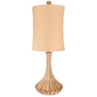 Surya LMP-1077 Woodland 34 inch 100 watt Camel Table Lamp Portable Light