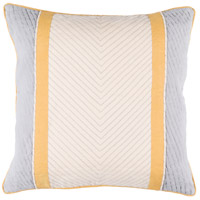 Surya LN003-1818 Leona 18 X 18 inch Beige and Grey Pillow Cover