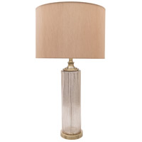 Surya LOL200-TBL Loleta 30 inch 100 watt Antique Table Lamp Portable Light
