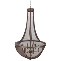 Lombard 6 Light 27 inch Chandelier Ceiling Light