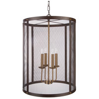 Surya Metal Mesh Pendants