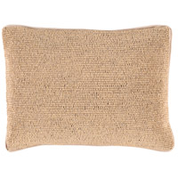 Surya LRK001-1319 Lark 19 X 13 inch Tan and Tan Pillow Cover