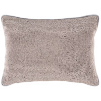 Surya LRK003-1319 Lark 19 X 13 inch Grey Pillow Cover