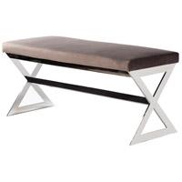 Surya LST-001 Luster Medium Gray Furniture