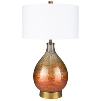 Surya White Cotton Table Lamps