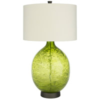 Surya LUL-002 Lulu 32 inch 100 watt Cream/Grass Green Table Lighting Portable Light