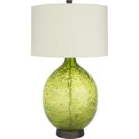 Surya LUL-002 Lulu 32 inch 100 watt Cream/Grass Green Table Lighting Portable Light