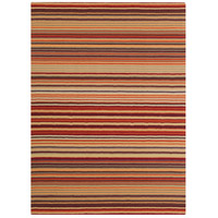 Surya M102-811 Mystique 132 X 96 inch Red and Orange Area Rug, Wool photo thumbnail