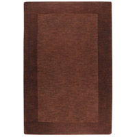 Surya M294-1215 Mystique 180 X 144 inch Dark Brown Rugs, Wool photo thumbnail