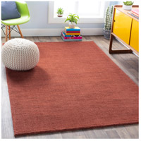 Surya M331-8RD Mystique 96 inch Rust Rugs, Wool alternative photo thumbnail