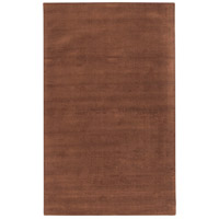 Surya M334-58 Mystique 96 X 60 inch Dark Brown Rugs, Wool photo thumbnail