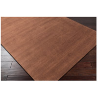 Surya M334-58 Mystique 96 X 60 inch Dark Brown Rugs, Wool alternative photo thumbnail