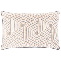 Surya MAL002-2214 Mila 22 X 14 inch Beige/Ivory/Medium Gray/Burnt Orange Pillow Cover photo thumbnail