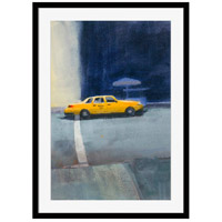 Yellow Cab Wall Art, Rectangle, Eternal