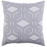 Surya MBK002-2020P Millbrook 20 X 20 inch Light Gray and Medium Gray Pillow alternative photo thumbnail