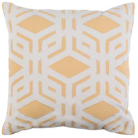 Surya MBK003-2222P Millbrook 22 X 22 inch Mustard and Ivory Pillow photo thumbnail