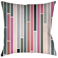 Surya MD019-2020 Moderne 20 X 20 inch Pink and Green Outdoor Throw Pillow photo thumbnail