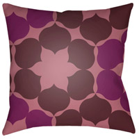 Surya MD054-2222 Moderne 22 X 22 inch Purple and Pink Outdoor Throw Pillow photo thumbnail
