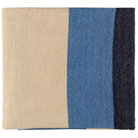 Surya MDW1001-5070 Meadowlark 70 X 50 inch Blue and Purple Throw