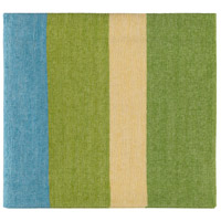 Surya MDW1004-5070 Meadowlark 70 X 50 inch Green and Yellow Throw