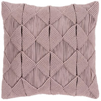 Surya MGR002-2222 Migramah 22 X 22 inch Taupe Pillow Cover, Square thumb
