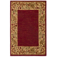 Surya MID4740-6798 Midtown 114 X 79 inch Dark Red/Wheat/Camel/Sage Rugs, Olefin photo thumbnail