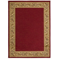 Surya MID4740-5373 Midtown 86 X 63 inch Dark Red/Wheat/Camel/Sage Rugs, Olefin photo thumbnail
