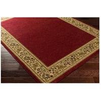 Surya MID4740-5373 Midtown 86 X 63 inch Dark Red/Wheat/Camel/Sage Rugs, Olefin alternative photo thumbnail