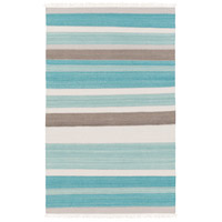 Surya MIG5000-576 Miguel 90 X 60 inch Blue and Gray Area Rug, Wool and Cotton photo thumbnail