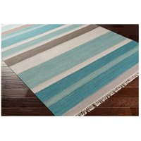 Surya MIG5000-576 Miguel 90 X 60 inch Blue and Gray Area Rug, Wool and Cotton alternative photo thumbnail
