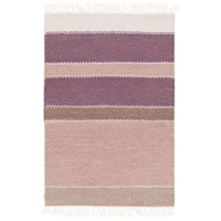 Surya MIG5002-23 Miguel 36 X 24 inch Purple and Purple Area Rug, Wool and Cotton photo thumbnail
