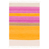 Surya MIG5003-23 Miguel 36 X 24 inch Orange and Purple Area Rug, Wool and Cotton photo thumbnail