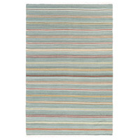 Surya MIG5008-576 Miguel 90 X 60 inch Blue and Orange Area Rug, Wool and Cotton photo thumbnail