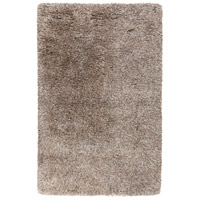 Milan 120 X 96 inch Black and Brown Area Rug, New Zealand Wool and Polyester