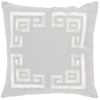 Surya MLO001-2020 Milo 20 X 20 inch Grey and Beige Pillow Cover photo thumbnail