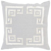 Surya MLO001-2020 Milo 20 X 20 inch Grey and Beige Pillow Cover alternative photo thumbnail