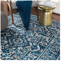 Surya MNC2302-1616 Monte Carlo 18 X 18 inch Sky Blue Indoor Area Rug, Sample photo thumbnail